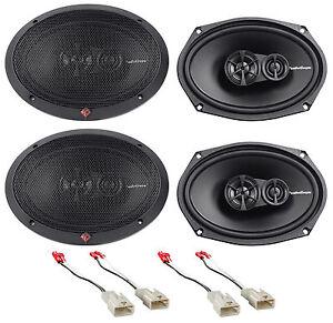2002 2006 toyota camry rockford fosgate 6x9 front rear speaker replacement kit 780687342531 ebay. Black Bedroom Furniture Sets. Home Design Ideas