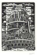 Ex Libris Lou Strik : Opus 185, Pim Zwiers