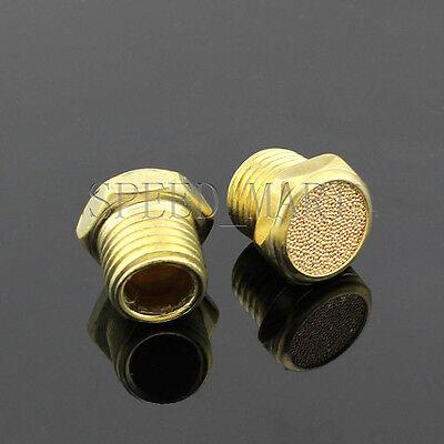 5 pcs 3//8 BSPT Bronze Brass Pneumatic Valve Sound Noise Muffler Silencer SLM-03