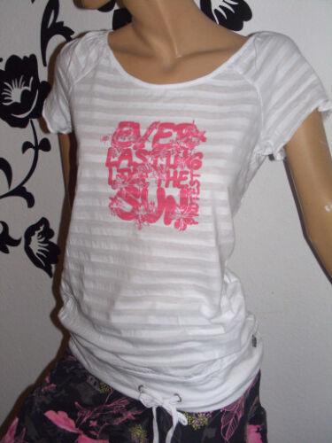 "Protest Girls Shirt /""Delay/"" Top weiß Kurzarm"