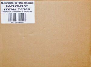 2014-Panini-Prestige-Football-Hobby-12-Box-Case