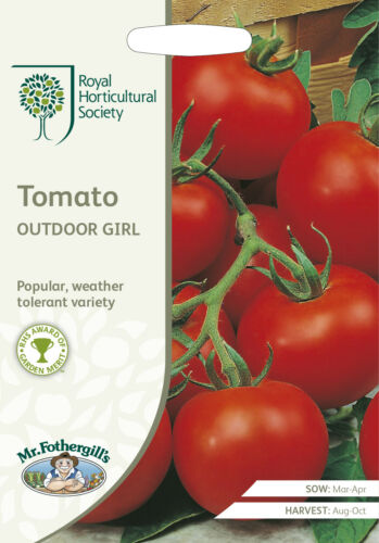 RHS TOMATO Outdoor Girl Seeds
