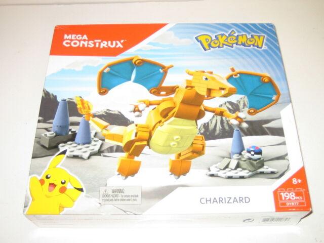 Pokemon Charizard Mega Construx NIB but Box Slightly Damaged