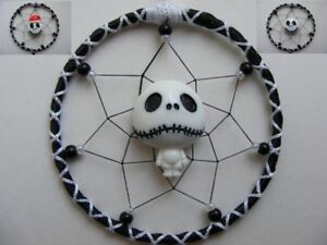JACK-SKELLINGTON-Nightmare-before-Christmas-MINI-Dreamcatcher-gift-Screamcatcher