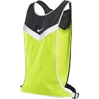 Nike Vivid Flash Run Vest Unisex Lightweight Reflective, Nra37074 Sizes S-xl