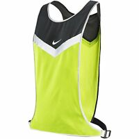 Nike Vivid Flash Run Vest Unisex Lightweight Reflective, Nra37074 Sizes S-xl
