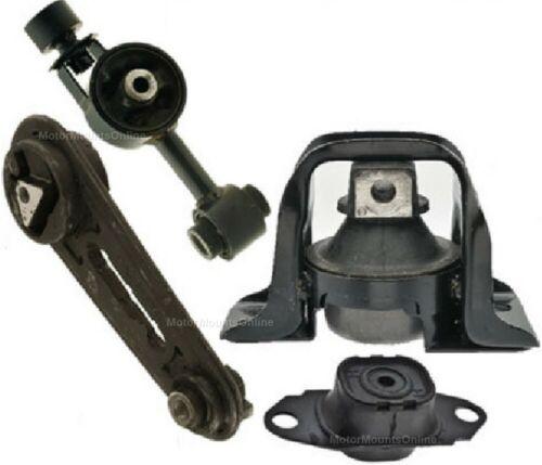 9R1302 4pc Motor Mounts fit AUTO M//T TRANS 1.8L Engine 2007-2012 Nissan Versa