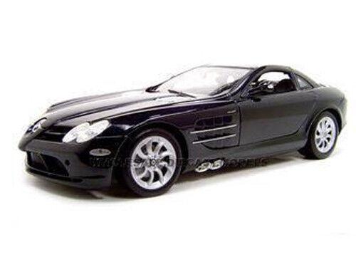 Mercedes McLaren sola Lente Reflex Negra 1 12 Diecast Modelo Coche por Motormax 73004