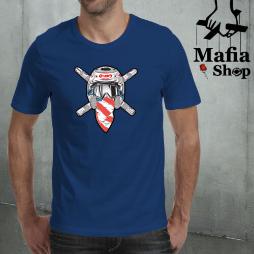 T-SHIRT T-SHIRT CAMICIA FMF RONNIE MAC 69 MOTOCROSS MX GO RON GO