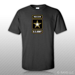 Ejercito-Recon-T-Shirt-Tee-Shirt-Ranger-EE-UU-nos-U-S