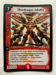 Überdragon Jabaha Very Rare DM-03 NM-EX Duel Masters Card English