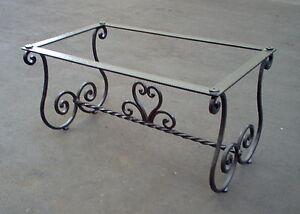 Tavolino Salotto In Ferro Battuto.Dettagli Su Tavolo Pranzo Tavolino Salotto Ferro Battuto Realizzazioni Personalizzate 651