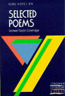 York Notes on Samuel Taylor Coleridge's  Selected Poems by Pearson Education Limited (Paperback, 1988)