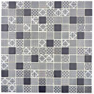 Retro-Vintage-mosaico-piastrella-ECO-RICICLO-VETRO-ECO-NERO-DOCCIA-MURO-145-p-90-b