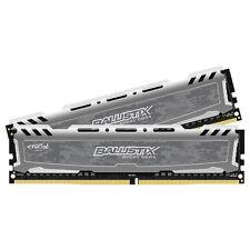 Crucial 16GB Kit 8GBx2 DDR4 PC4-19200 DIMM 288-pin Memory Ram BLS2K8G4D240FSB