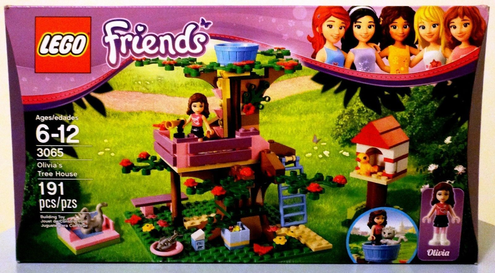 LEGO FRIENDS 3065 OLIVIA'S TREE HOUSE Factory Sealed RETIRED Girls - NEW