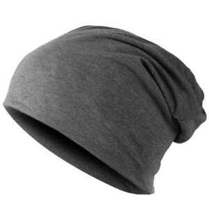 Bonnet-Chapeau-d-039-hiver-Hip-Hop-unisexe-populaire-Gris-fonce-G6W7