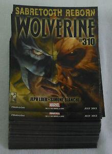 Dealer-039-s-Lot-of-99-comic-promo-cards-2012-Marvel-SABRETOOTH-REBORN-WOLVERINE