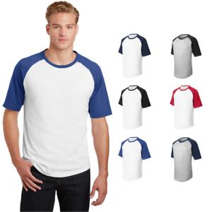 Sport-Tek Short Sleeve Colorblock Raglan Jersey T201