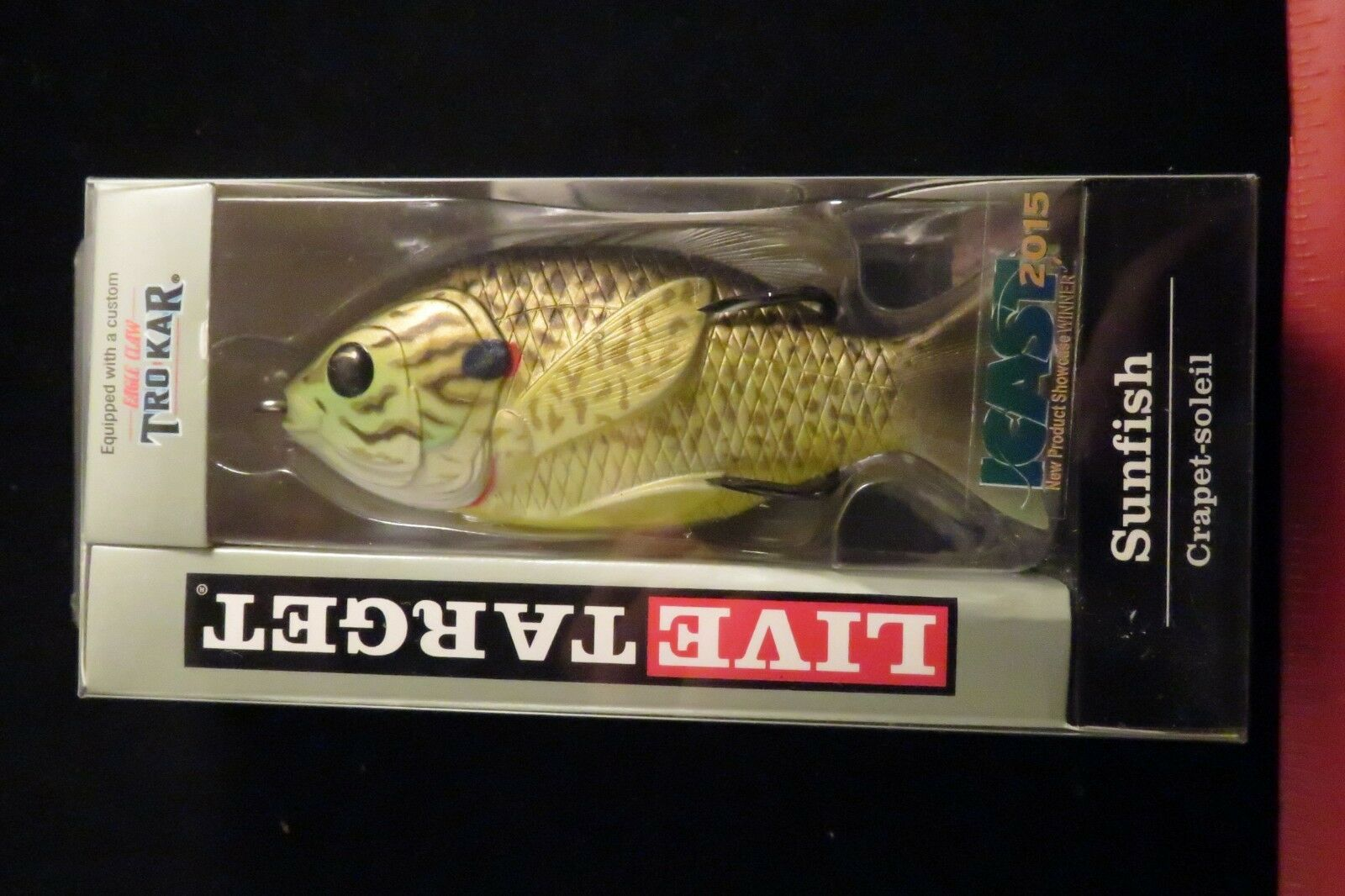 """Koppers Live Target SFH90T Hollow Body Sunfish 3-1//2/"""" 5//8oz Pick Color /& Qty NEW"""