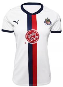 promo code 17368 e1142 Details about Chivas women Puma jersey authentic 18-19 away S M 2XL  Guadalajara liga MX
