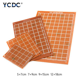 4 Sizes Printed Circuit Board PCB Proto Breadboard For DIY Electronic Test 30EF