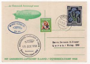 Carte-Airship-Luftschiff-Underberg-Austria-Autriche-Osterreich-Fahrt-16-09-58