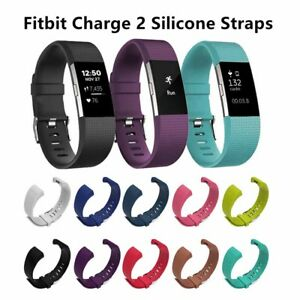 Fitbit Charge 2 Aktivitäts Schlaf Armband Ersatz Band Fitness Tracker S L
