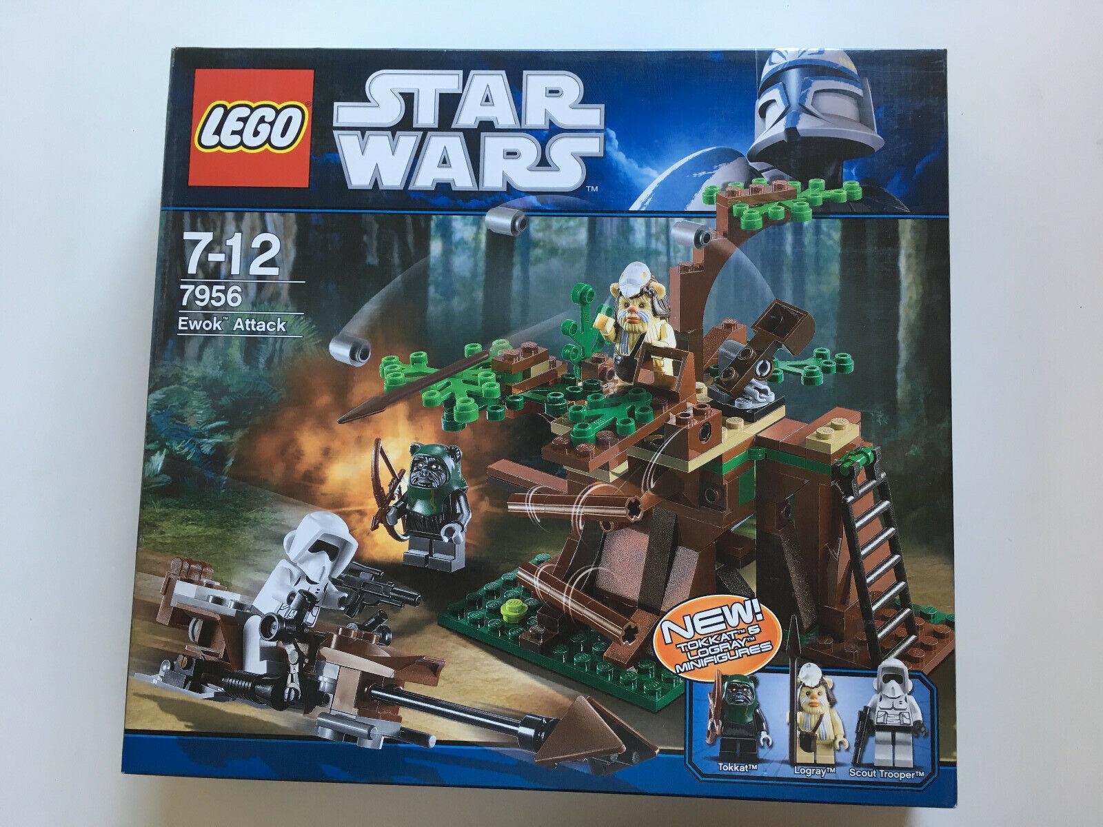 LEGO 7956 EWOK ATTACK ATTACK ATTACK  SEALED BOX - SCATOLA SIGILLATA 3123b0