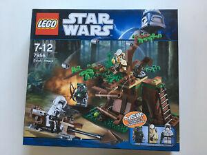Boîte scellée Lego 7956 Ewok Attack - Boîte scellée
