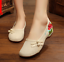 Chinese-Embroidered-Floral-Shoes-Women-Ballerina-Flat-Ballet-Cotton-Loafer-snug thumbnail 17