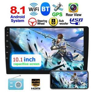 10-1-034-2DIN-Android-8-1-Quad-Core-Autoradio-GPS-Navi-Wi-Fi-BT-Car-MP5-Fm-Radio