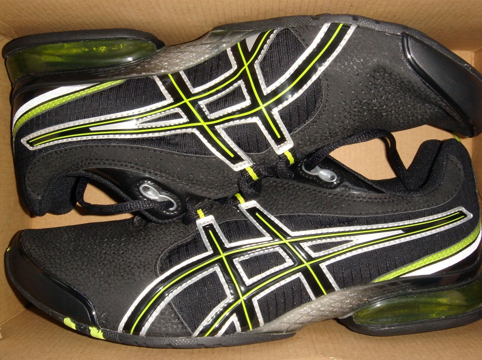 Asics Gel TurnZapatos  Sneaker New. Negro Lime New. Sneaker d78224