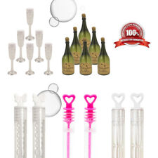24 Green Champagne Bottle Bubbles Pinata Toy Loot//Party Bag Fillers Wedding