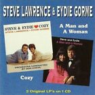 Cozy/A Man and a Woman by Eydie Gorme/Steve Lawrence & Eydie Gorme/Steve Lawrence (CD, Jul-2013, GL Music Co. (Gorme/Lawrence))