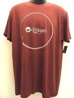 Dragon Alliance Men Circular Tee T Shirt Size L Large 17-30b