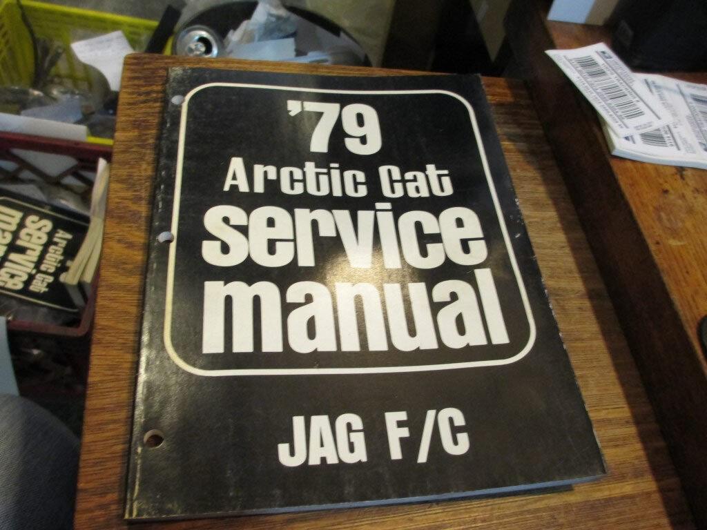 Arctic Cat Snowmobile Service Manual 1979 Jag F C 0153-278