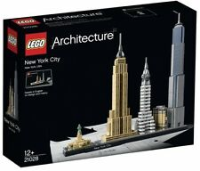 NEW York City LEGO HOUSE LEGO ARCHITECTURE BUILDER Natale World Trade Gift Box Set