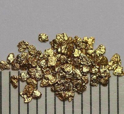 60 Echte Goldnuggets- Gold Nuggets Aus Alaska!