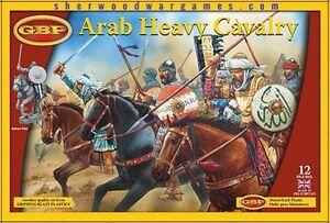 28mm Arab Heavy Cavalry, Gripping Beast Plastics, Swordpoint, Ancients, Saga