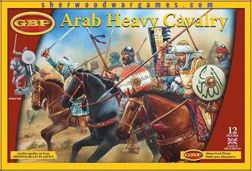28mm Arab Heavy Cavalry, Gripping Beast Plastics, Swordpoint, Ancients, Saga