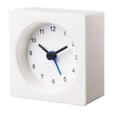 Ikea Vackis Alarm Clock New White