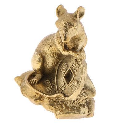 Chinese Feng Shui Money Lucky Zodiac Animal Figurines Monkey Statue Figurine