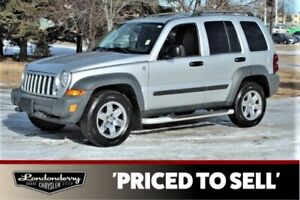 2006 Jeep Liberty 4WD SPORT Accident Free,  Sunroof,  A/C,