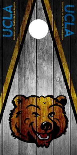 SINGLE UCLA Bruins Cornhole Wrap Skin Decal Vinyl NCAA Mascot DT309