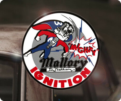 Mallory Ignition Pegatina Sticker autocollante Hot Rod ignición Mopar Chevy