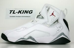 outlet store e2ebc d3233 ... coupon for image is loading nike air jordan true flight white red black  4852f 5c67d