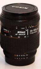 Nikon AF 28-105mm f 3.5-4.5 D lens for Nikon D5300 D90 D600 D800 D3300 D3100 D80