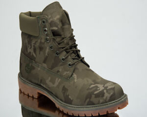 10c505f0c27a Image is loading Timberland-6-Inch-Premium-Fabric-Waterproof-Boots-Men-