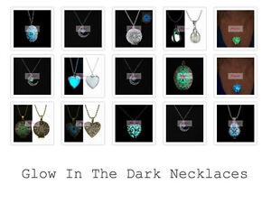 Image Is Loading Glow In The Dark Princess Necklace Jewellery Quirky
